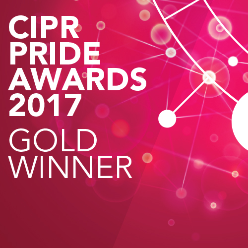 PRide 2017 Gold Winner