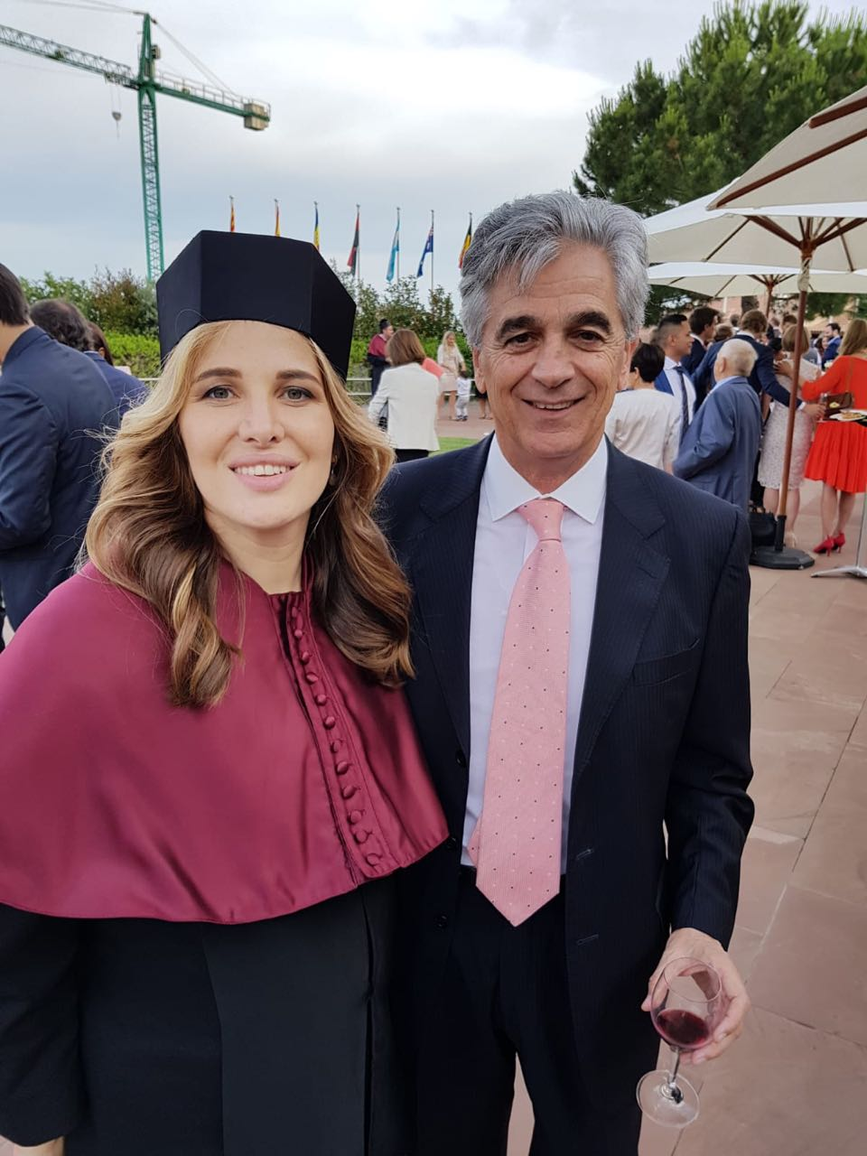 Inna Anisimova and Luis Canomanuel