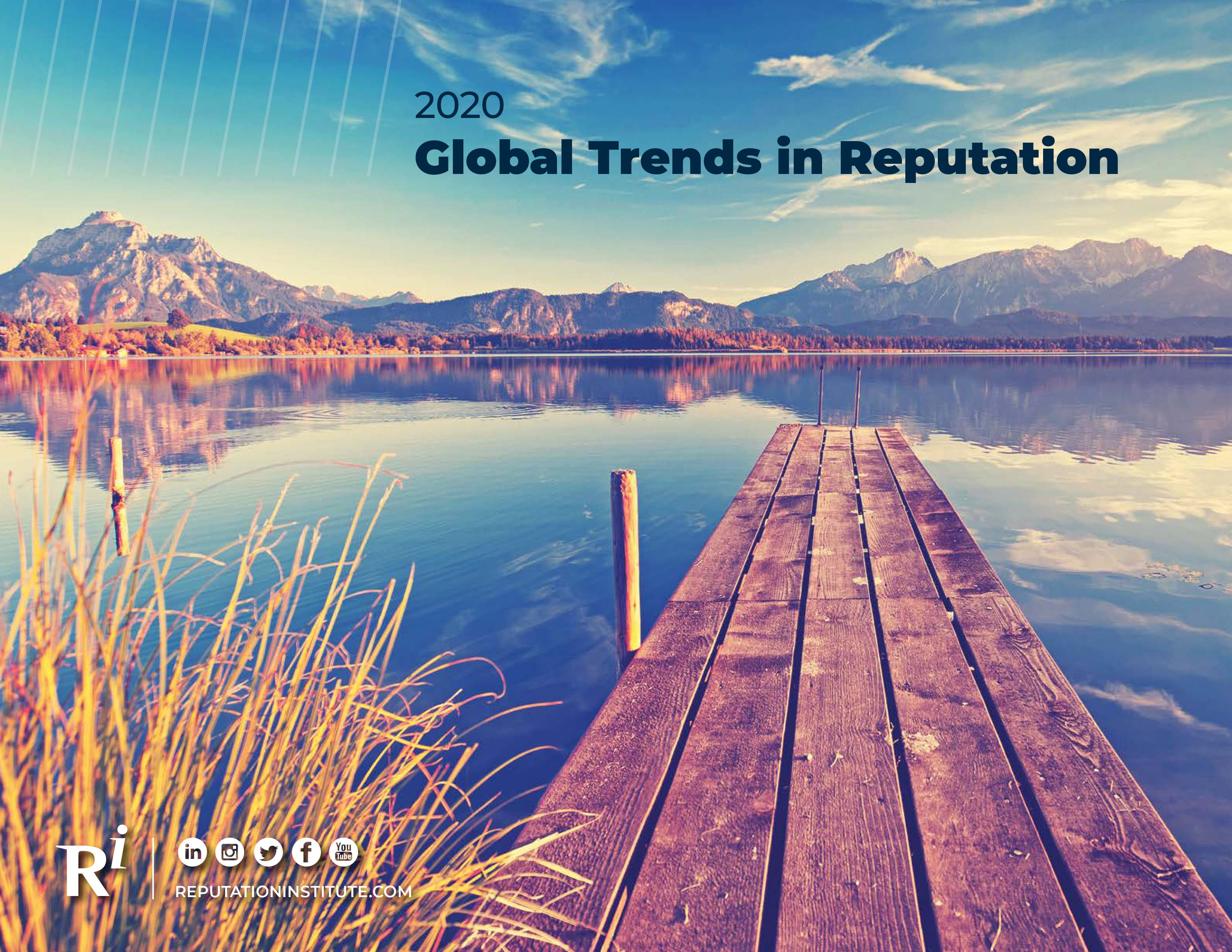 The 10 top reputational trends in 2020 by Reputation Institute