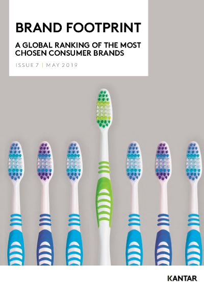 Brand Footprint: a global ranking of the most chosen consumer brands