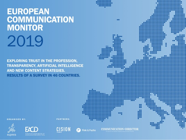 The European Communication Monitor 2019 sheeds light on five pressing issues for communication leaders