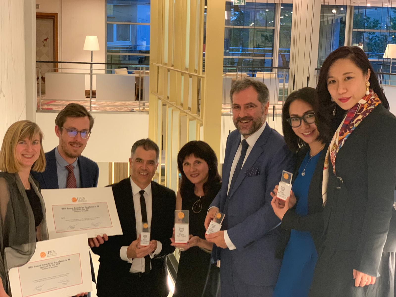 Estonia, Spain, Luxembourg, Portugal and China win IPRN 2019 Annual Awards in Warsaw