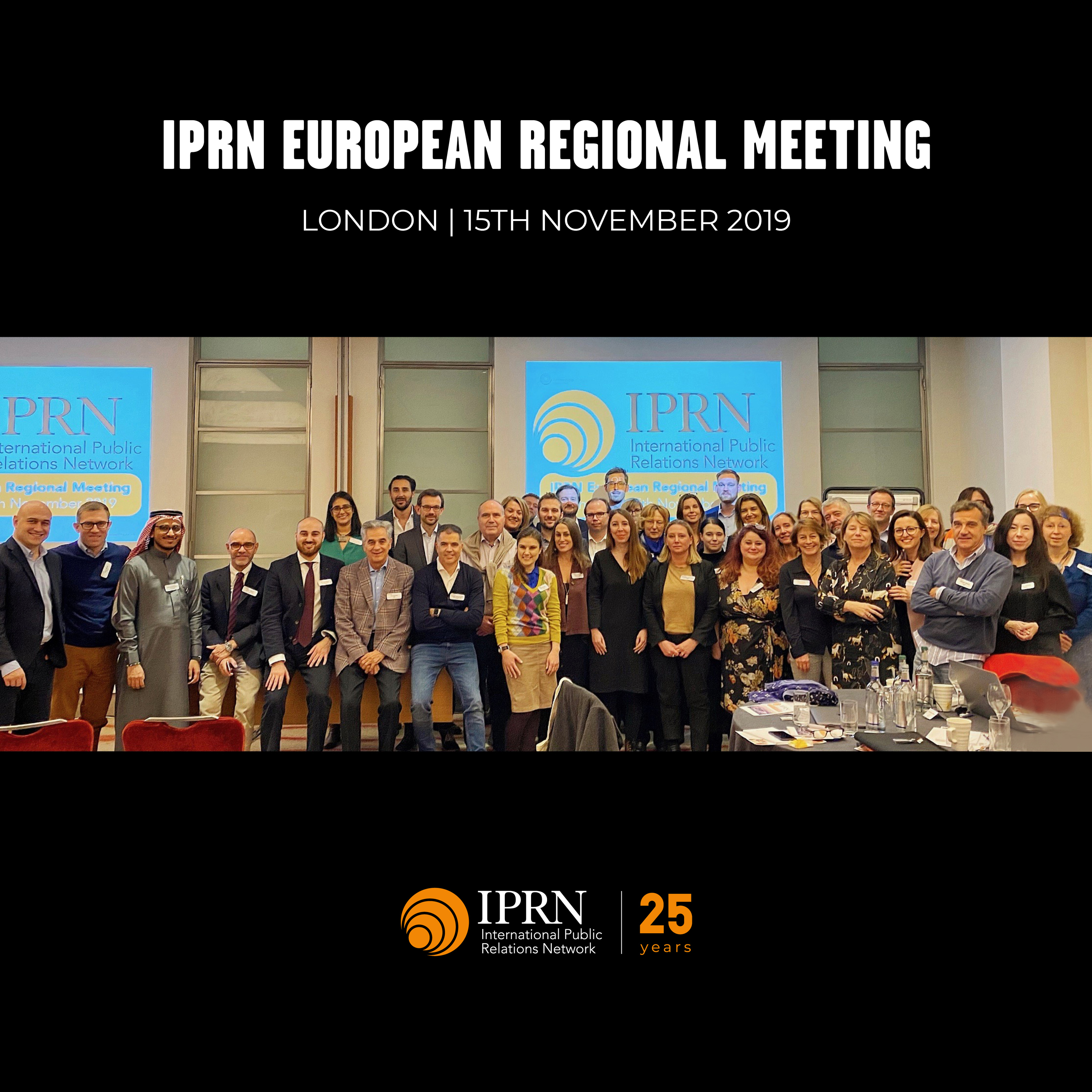 London, IPRN European Capital 2019