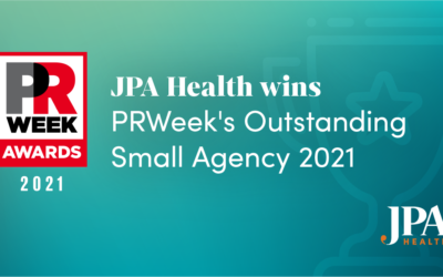 JPA Health recognized by PR Week as 2021 outstanding small agency
